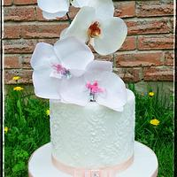 Wafer paper Orchids