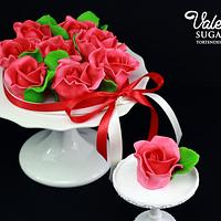 Chocolate roses for Women's Day