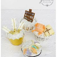 Boho Cupcake