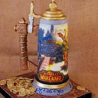 World of Warcraft Stein Cake