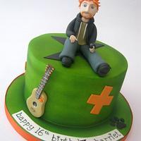 Ed Sheeran Multiply Themed Cake