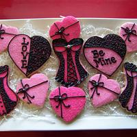Hot Pink Valentines by Kathy Kmonk