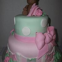 Sweet Baby Shower Cake