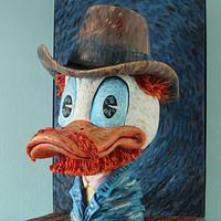 3D Vincent v Gogh / Donald Duck