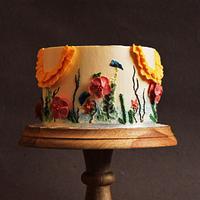 A Floral Dream - Caker Buddies Collaboration - Buttercream
