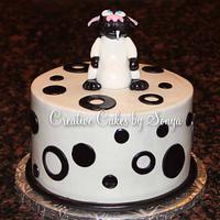 Bucky Katt Birthday Cake