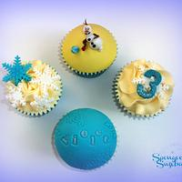 In summmmer cupcakes!