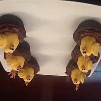 Easter chicks by Niska