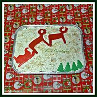 Christmas Pineapple Cake