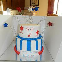July Birthday Cake