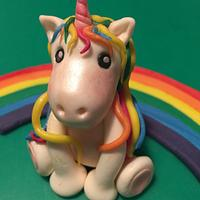 Unicorn & rainbow 🌈