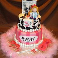 Eloise in the Plaza Cake