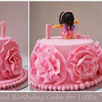 "Birthday Cake for Little ""Myra's first Birthday"""