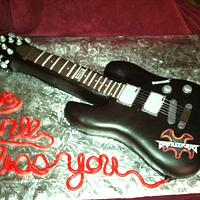Ltd mh-100 Guitar Cake