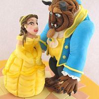 Beauty and the Beast Birthday Cake by Natasha Shomali