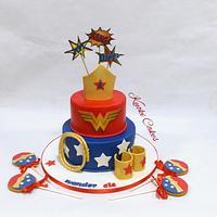 Wonderful woman cake Birthday