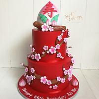 Oriental Longevity Cake