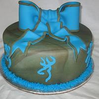 Camo & Turquoise & Bow