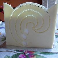 White Modelling Chocolate by Saranya Thineshkanth