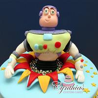 Toy Story for Caine! by Cynthia Jones