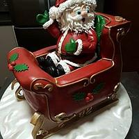 Santa in his Sleigh