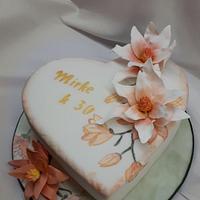 birthday with magnolias
