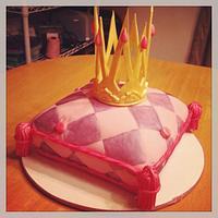 Princess Crown & Pillow