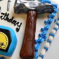 Handyman Birthday Cake by Donna Tokazowski- Cake Hatteras, Hatteras N.C.