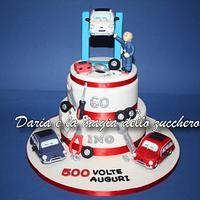 Torta meccanico/Car mechanic cake