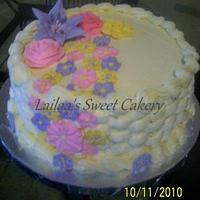 Basketweeve Cake by Lailaa