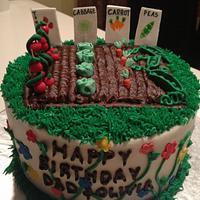 Birthday Garden by Cakebuddies