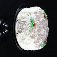 Christmas Rosette Cake