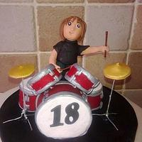 Drumkit & Drummer