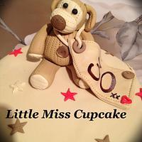 Boffle bear cake by Jenna