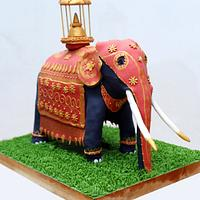 "The Kandy Pageant Elephant - Submission for ""Beautiful Sri Lanka""Collaboration"