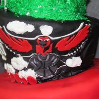 Atlanta Cake by NickySignatureCakes