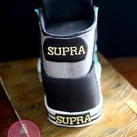 Supra Sneaker Cake by Shawna McGreevy