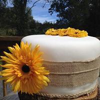 Rustic Fall Wedding by CakeYourself