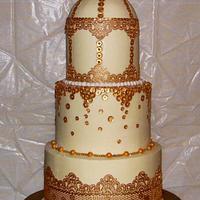 Love Burds Bridal Shower Cake