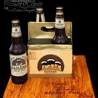 Banana Bread Beer Cake