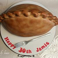 Cornish Pasty Cake by Louise Jackson Cake Design