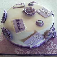 Mother's Day Cake by Chrissy Rogers