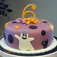 Not-So-Scary Halloween Birthday Cake