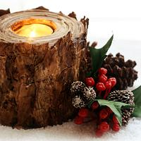 Holiday Cookie Candle Holder