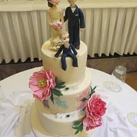 Ashleen's Wedding Cake (My Favourite Wedding Cake Ever!)