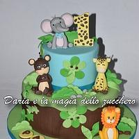 Baby savana cake