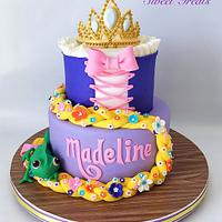 Tangled Cake by MimisSweetTreats