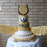 Ísis Wedding Cake - Egypt Land of Mistery Collab