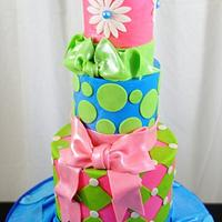 Mini Cake with Bows