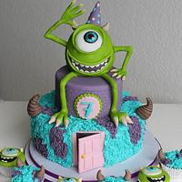 Monsters inc cake :)